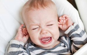 Baby cry bad ears