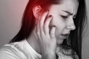 Woman Ear Pain