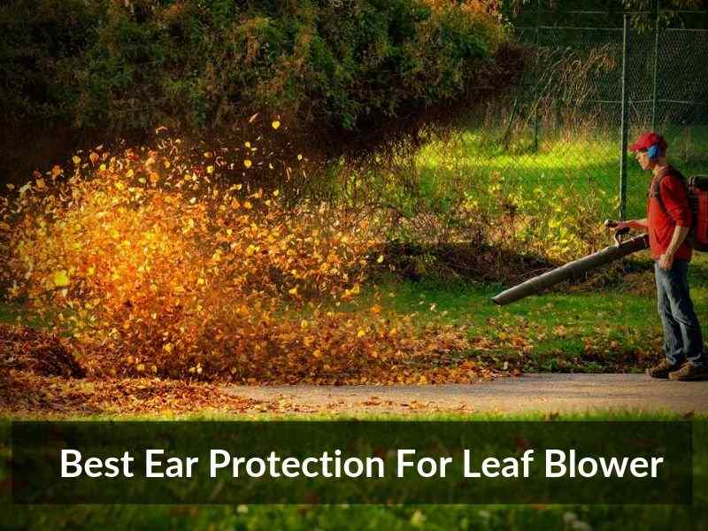 Best Ear Protection For Leaf Blower 1