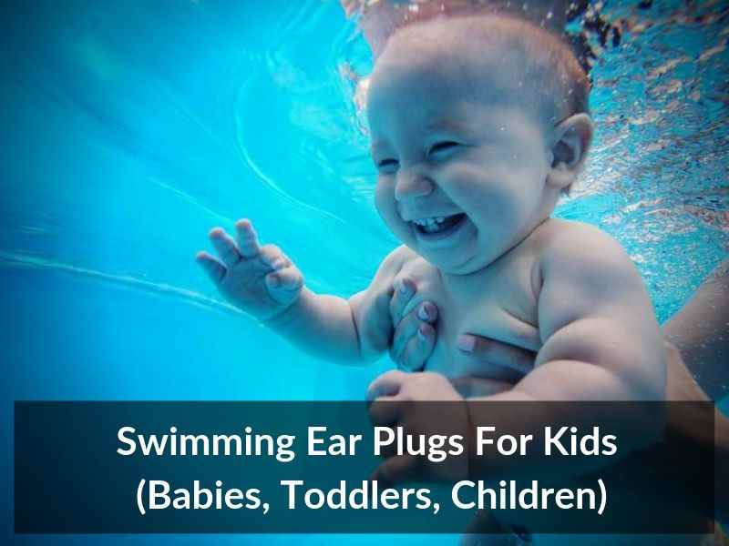 Swimming Ear Plugs For Kids Babies Toddlers Children