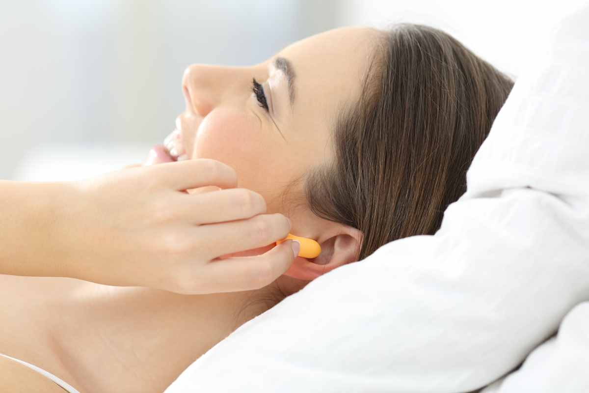 No Noise Earplugs for Sleeping Better with a Snoring Partner