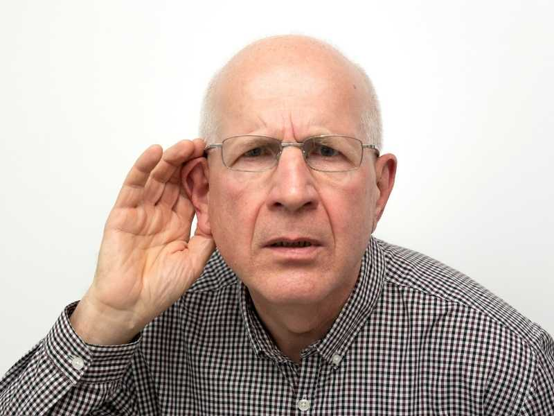 Can a deaf person hear with bone conduction?