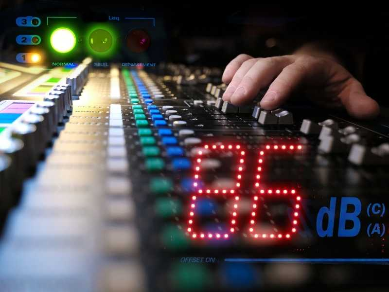 How many decibels does it take to kill a human?